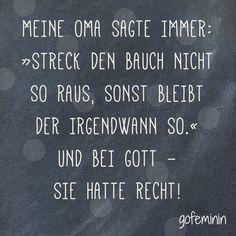 Noch mehr Sprüche für jede Lebenslage findest du hier: http://www.gofeminin.de/living/album920026/spruch-des-tages-witzige-weisheiten-fur-jeden-tag-0.html#p1 Mehr