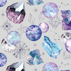 Self-Adhesive Silver Night Sky Wallpaper Sticker  Cosmos | Etsy