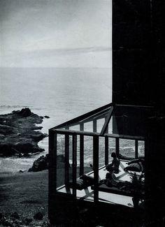 Charles W. Moore | Condominium One -parking court | Sea Ranch; California | 1965