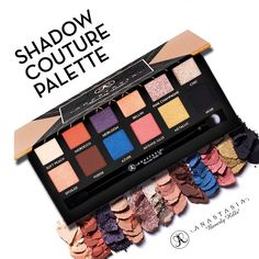 Pinterest @10jolie | Anastasia Beverly Hills Shadow Couture Palette for Fall 2015 (available end of July)