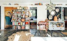 The Home of.... Rebecca Williams.. Cocina Shabby Chic, Shabby Chic Kitchen, Kitchen Decor, Bohemian Kitchen, Kitchen Storage, Boho Vintage, Deco Boheme, Decoration Originale, Interior Decorating