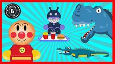 #Anpanman Toys Anime Episode 65: Baikinman Crocodile's Chocolate アンパンマン ...