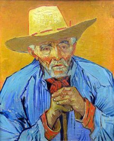 Vincent van Gogh - Portrait of Patience Escalier, 1888 at Kunsthaus Zürich - Zurich Switzerland
