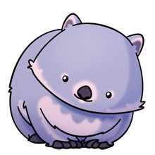 Oh, how I love Wombats <3