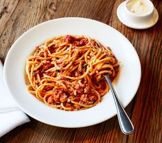 Classic Pork Bolognese from @Esquire. It's what's for Sunday dinner.