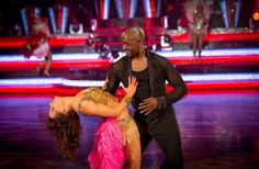 Patrick Robinson and Anya Garnis Perform At Blackpool In Strictly Come Dancing 2013