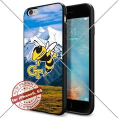 WADE CASE Georgia Tech Yellow Jackets Logo NCAA Cool Apple iPhone6 6S Case #1161 Black Smartphone Case Cover Collector TPU Rubber [Forest] WADE CASE http://www.amazon.com/dp/B017J7NWOW/ref=cm_sw_r_pi_dp_gz3rwb0VQGNGS