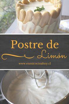 Si buscas un postre liviano y veraniego este postre: espuma de limón te va a encantar, con leche evaporada y condensada es un clásico absoluto.