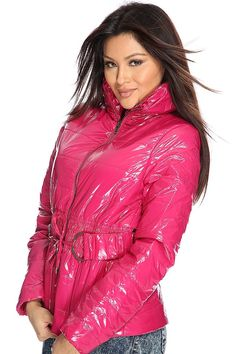 Pink Raincoat, Raincoat Jacket, Winter Suit, Puffy Jacket, Rain Wear, Down Coat, Fashion Branding, Dress To Impress, Jackets For Women