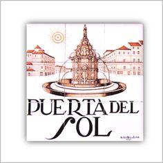 AZULEJO PUERTA DEL SOL - Las Calles del Viejo Madrid