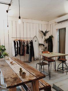 Soorts Hossegor, Deco Surf, Sup Shop, Cafe Interior, Interior Design, Surf Cafe, Hut House, Barber Shop Decor, Boutique Deco