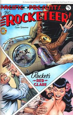 The Rocketeer - By Dave Stevens