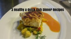 3 & Quick - Fish are healthy and tasty foods that contain ingredients to boost system, and improve our heart health. Here are three healthy fish recipe Quick Fish, Food Picks, Yummy Food, Tasty, Fish Dinner, Fish Recipes, Dinner Recipes, Heart Health, Immune System