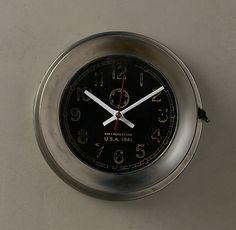 Navy Deck Clock. Nice.