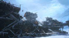 Concept: Snow Slum by inetgrafx.deviantart.com on @deviantART