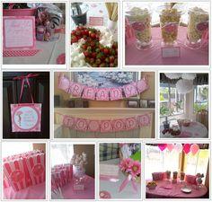 Pink baby shower ideas  #babyshower #pink
