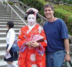 A cultural encounter in Kyoto, Japan - 2007