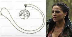 Regina Mills pendant // Evil Queen // Tree of life // Once Upon a Time //