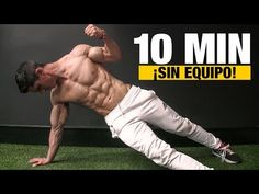 Here's a home workout that will take you just 10 min to do that will make you feel as if you've been training for an hour. The key to workout effectiveness i. 10 Min Workout, All Body Workout, Home Workout Men, Gym Workout Videos, Weight Training Workouts, Easy Workouts, At Home Workouts, Workout Routines For Beginners, Yoga Fitness