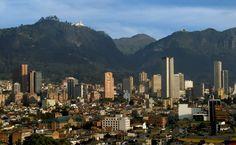 Vue du centre de Bogota