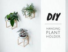 Wohnen mit Pflanzen – DIY hängende Pflanzenhalter | craftifair | Bloglovin'