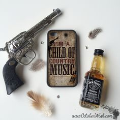 Child of Country Music Phone Case.
