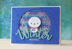 SSS-Flurries of Love card kit | Doublestick Heaven  | Laura Bassen | winter wishes