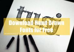 Hand Drawn for Free: 30 Fonts Online Marketing Services, Internet Marketing, Marketing News, Social Networks, Social Media, Hand Drawn Fonts, Daffodil Flower, Electronic Media, New Image
