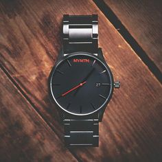 Black / Black Watch | MVMT Watches