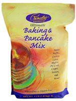 Pamela's Products Gluten and Wheat Free Pancake and Baking Mix