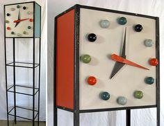 Clock Tower Shelf by The Frederic Weinberg Co. via http://www.midcenturia.com/2011/10/frederic-weinberg-co.html?utm_source=feedburner_medium=email_campaign=Feed%3A+Mid-centuria+%28MID-CENTURIA%29