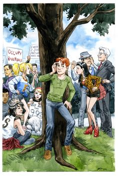 The Occupy movement comes to Archie comics