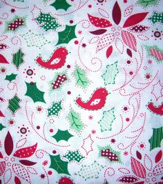 JoAnn Fabric Holiday Inspirations Fabric by BlueCraneQuiltShop, $8.00