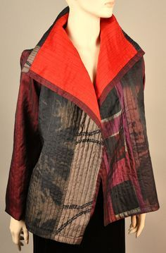 Overlap Coat Quilted (sold)