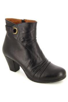 Kadın Siyah Deri Comfort Bot #modasto #giyim #moda https://modasto.com/eclipse-7-shoes/kadin/br22871ct2