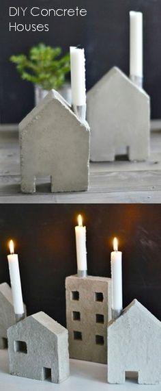 DIY Concrete Houses barefootstyling.com