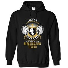 Cool #TeeForBlack Russian Terrier BLACK RUSSIAN… - Black Russian Terrier Awesome Shirt - (*_*)