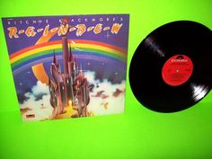 Rainbow – Ritchie Blackmores Rainbow 1975 VINYL LP Record Hard Rock EX Sterling #HardRock