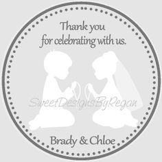 First Communion Twins Favor Tags  Tags Only by SweetDesignsbyRegan, $6.00