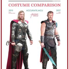 • THOR - COSTUME COMPARISON • have you gotten used to Thor's new look yet ? I think I am but I still think his old look was more iconic. i do really like his news swords tho. Do you think we will ever see Thor with long hair again? and what look do you prefer, 2013 or 2017 ??? let me know in the comments below ✌️ ———————————————————— #marvel #mcu #ironman #captainamerica #thor #hulk #blackwidow #antman #spiderman #avengers #disney #guardiansofthegalaxy #gotg #infintywar #spidermanhomecoming…