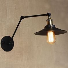 American style retro light simple creative LED lamp outdoor antique European lighting industrial iron bedroom lighting 90V-260V  #lighting #e #s #ec #Racerback $114.99 #organic #natural #ecofriendly #sustainaable #sustainthefuture