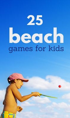 Beach Games For Kids & Best Beach Toys + Sand Toys For Boys & Girls - Beach Hacks and Beach Games for Kids but make sure to bring extra sunscreen because the kids won' - Games For Boys, Outdoor Games For Kids, Games For Toddlers, Toys For Boys, Outdoor Play, Quiet Toddler Activities, Summer Activities For Kids, Kid Activities, Outdoor Activities