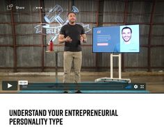 In order to learn how to run an online business and make money online, you first have to learn about yourself. Understanding your entrepreneurial personality type is a must Internet Marketing, Online Marketing, Digital Marketing, Make Money Online, How To Make Money, How To Become, Motivational Videos For Success, Feeling Sorry For Yourself, Learn To Run