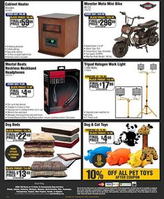 Mini Bike, Work Lights, Black Friday, Coupons, King, Ads, Check, Minibike, Coupon