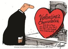 MRS. OBAMA'S CHOCOLATES? | Feb/14/15 Cartoon by Henry Payne
