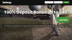 Get your exclusive welcome offer when you join Betway today. Experience pre-game and in-play sports betting markets, the latest casino games and more. Betting Markets, Sports Betting, Casino Games, The 100