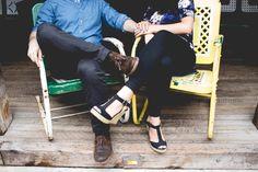 Jenga & BBQ Engagement | Tara Beth Photography