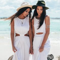Get the look of both the owners, in the Snow Oasis Maxi and Solstice maxi both available now at #SaboSkirt.com