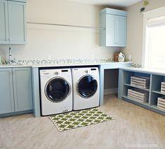 laundry room | Hiya Papaya + Four Chairs Furniture