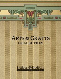 Arts & Crafts Collection - Arts & Crafts Collection of wallpapers. Sort of Art Nouveau conservative. very tasteful. Arts And Crafts For Adults, Arts And Crafts House, Easy Arts And Crafts, Arts And Crafts Projects, Home Crafts, Craftsman Decor, Craftsman Interior, Craftsman Style, Craftsman Houses